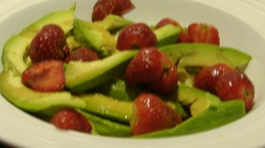 Avocado & Strawberry